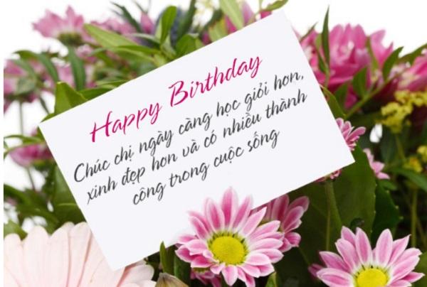 lời chúc sinh nhật chị