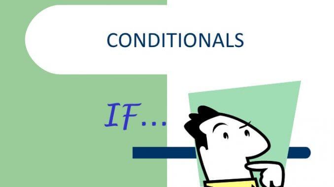 Câu điều kiện If