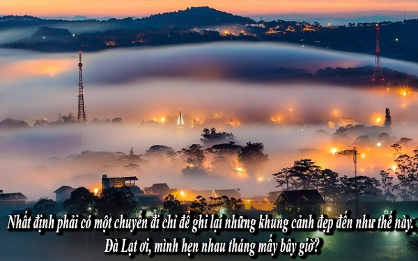 caption đà lạt