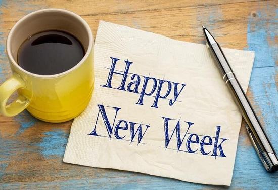 Câu chúc tuần mới bằng Tiếng Anh