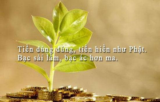danh ngôn hay về tiền