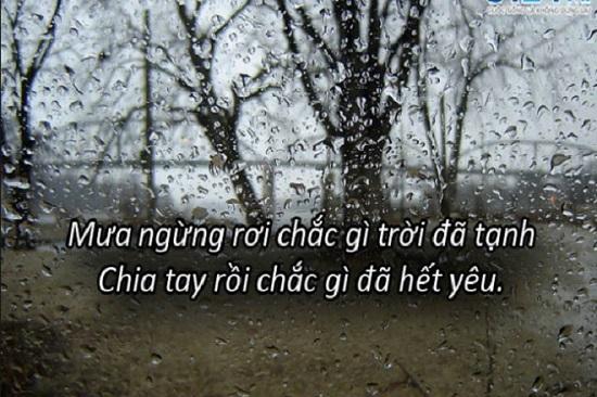 stt về mưa
